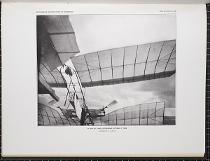 Flight of large aerodrome October 7, 1903