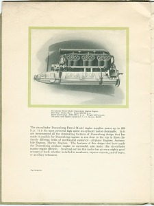 Six-cylinder Patrol Model Duesenberg Marine Engine