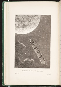 PROJECTILE TRAINS FOR THE MOON