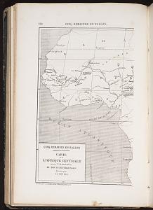 L'Afrique Centrale, left half.