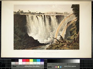 Great Western (or main) fall, from Three Rill Cliff to Garden Island