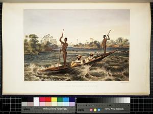 Zanjueelah, the boatman of the rapids