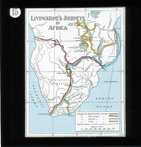 No. 15: Livingstone's Journey in Africa