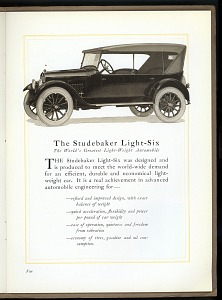 The Studebaker Light-Six