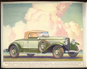 President Eight Four-Season Convertible Roadster for Four