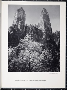 13. Cathedral spires. Morning — at any time of year — is the time of magic in the mountains.