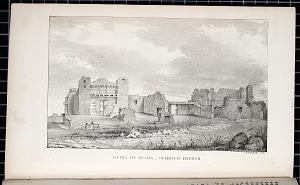 Ruins of Pekos.& Catholic Church