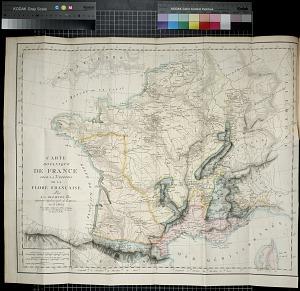 Carte Botanique de France