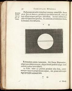 p.16: Saturnus brachiorum expers inventum