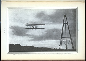 Evening in Cloudland: Wilbur Wright Returns to the Starting Derrick After a Most Successful Flight.