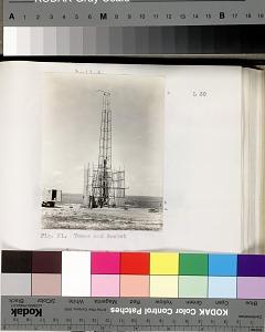 Vol. XI , Fig. 31. Tower and Rocket