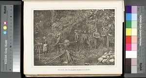 Running the telegraph, Darien expedition