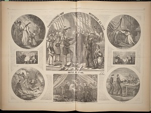 Thanksgiving Day - November 24, 1864. United We Stand.