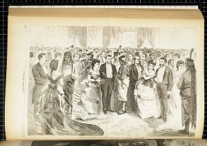 Reception of Indians at the White House