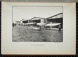 Les trois hangars Blériot