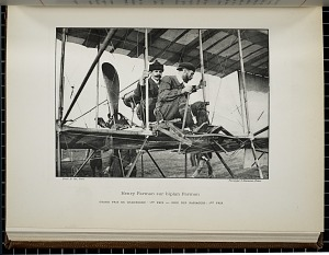 Henry Farman sur biplan Farman
