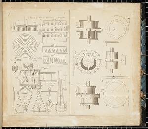 Perrier's Distilling Apparatus, Hope's Printing Press