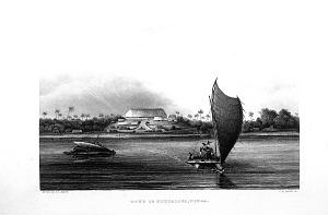 Town of Nukualofa, Tonga