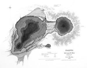 Crater of Kilauea, Hawaii