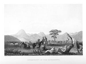 Encampment on the Sacramento