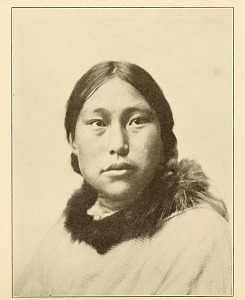 Eskimo, Indian like, northern Bering Sea region. (Photos by Lomen Bros.)
