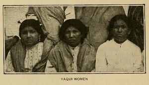 Yaqui women.