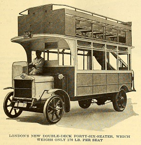 London's new double-deck forty-six-seater.