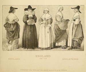 English costumes.