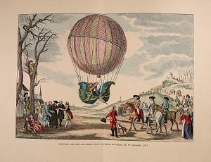 Ascension éxecutée par Charles dans La Prairie de Nesles, le 1 Decémbre 1783.