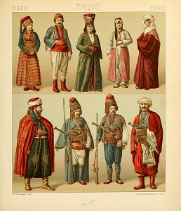 Turkish costumes.