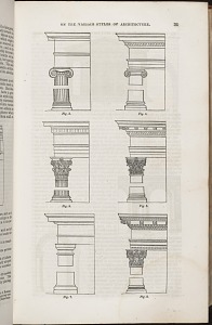On the Various Styles of Architecture (Fig. 1. through Fig. 6.)