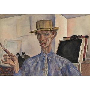 Bertram Hartman Self-Portrait