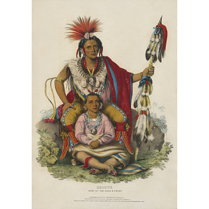 Keokuk - Chief of the Sacs and Foxes