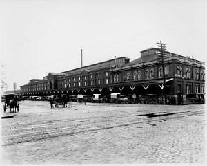Center Market, B Street, N.W.