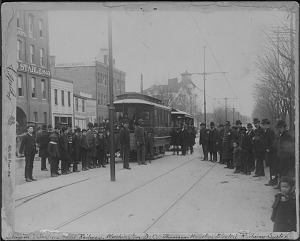 Eckington & Old Soldiers' Home streetcar line