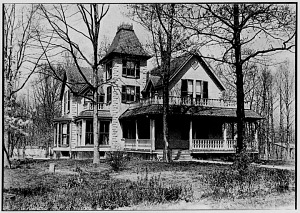 Dr. Bliss house,Takoma Park, about 1886