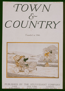 Cover, Town & Country, August 1909