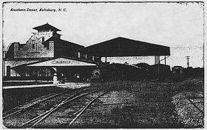 Salisbury station, 1920s