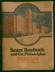 Sears, Roebuck & Co. catalog, 1921