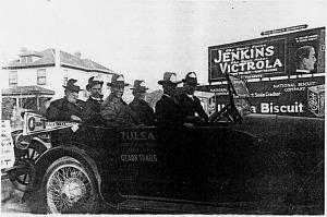 Highway advocate Cyrus Avery, 1916