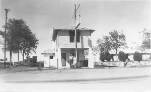 Lucille Hamons's gas station