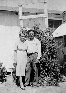 James and Flossie Haggard, 1937