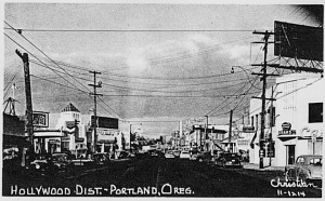 Sandy Boulevard, late 1940s