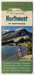 Greyhound travel brochure, 1949