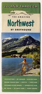 Greyhound travel brochure, 1949