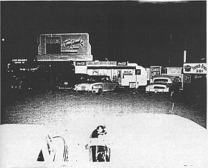 Drive-in on the strip