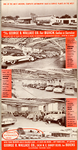 Wallace Buick brochure, 1951