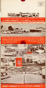 Wallace Buick brochure, 1951