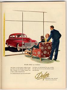 Dodge advertisement, 1949