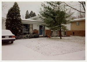 The Robinsons' Park Forest Home, about 1994